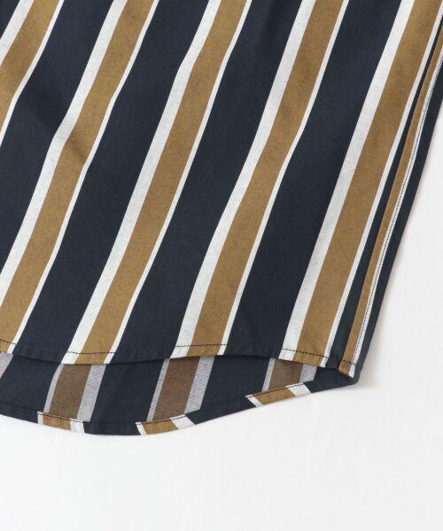 Sonny Label / サニーレーベル シャツ・ブラウス | ジャパンファブリックマルチストライプシャツ | 詳細20