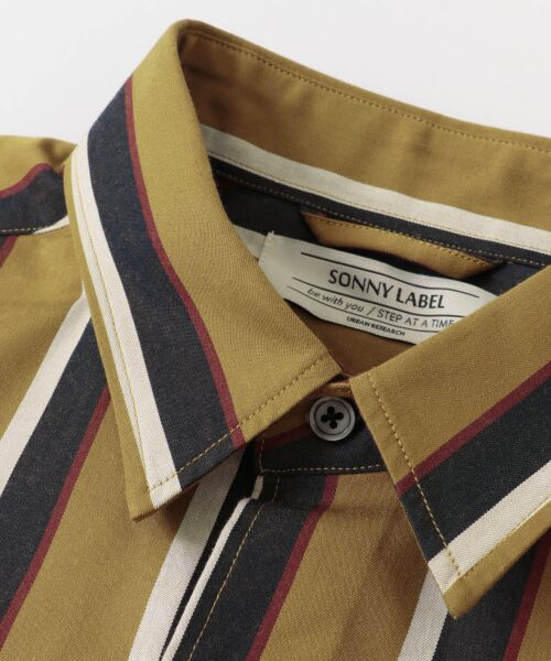 Sonny Label / サニーレーベル シャツ・ブラウス | ジャパンファブリックマルチストライプシャツ | 詳細23