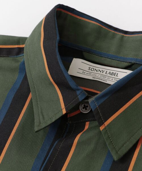 Sonny Label / サニーレーベル シャツ・ブラウス | ジャパンファブリックマルチストライプシャツ | 詳細24