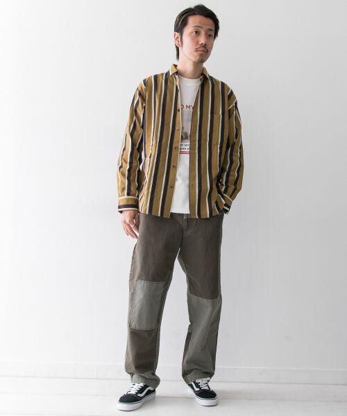 Sonny Label / サニーレーベル シャツ・ブラウス | ジャパンファブリックマルチストライプシャツ | 詳細5