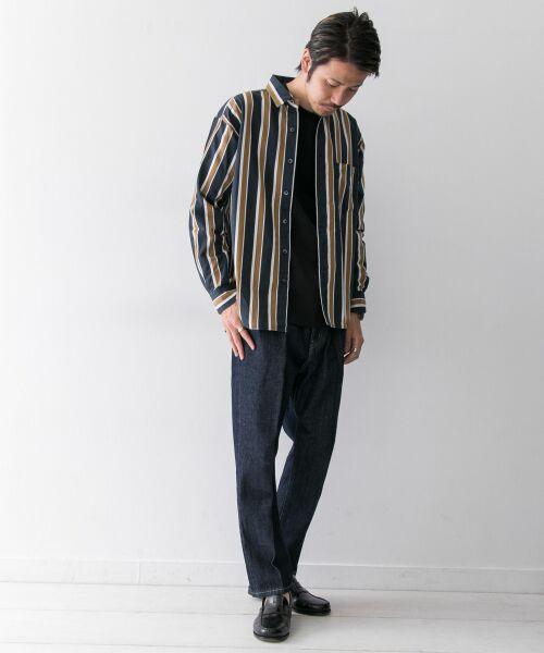Sonny Label / サニーレーベル シャツ・ブラウス | ジャパンファブリックマルチストライプシャツ | 詳細9