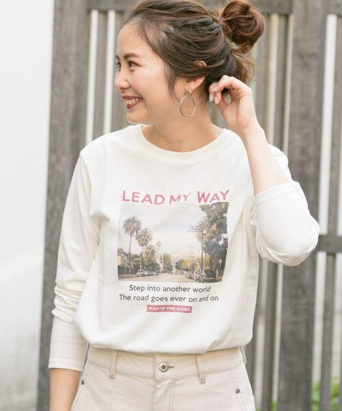 Sonny Label / サニーレーベル Tシャツ | フォトプリントロングスリーブTEE(LEADMYWAY)