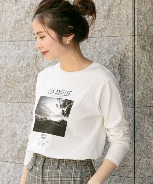 Sonny Label / サニーレーベル Tシャツ | フォトプリントロングスリーブTEE | 詳細1
