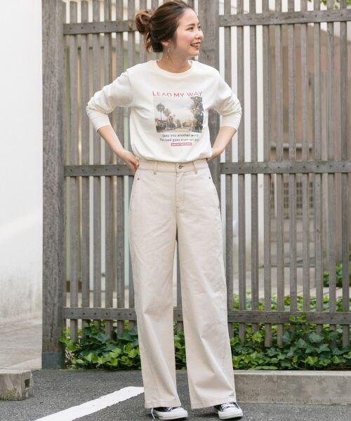Sonny Label / サニーレーベル Tシャツ | フォトプリントロングスリーブTEE | 詳細4
