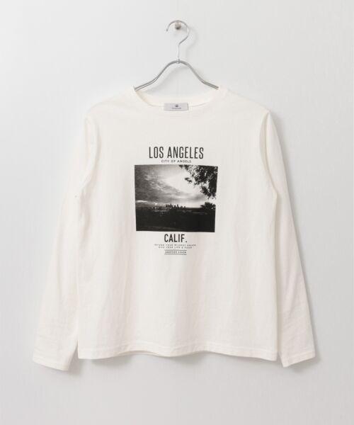Sonny Label / サニーレーベル Tシャツ | フォトプリントロングスリーブTEE | 詳細8