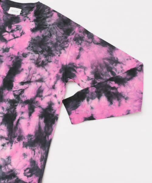 Sonny Label / サニーレーベル Tシャツ | CAL O LINE TIE DYE LOOSE LONG-SLEEVE T-SHIRTS | 詳細3