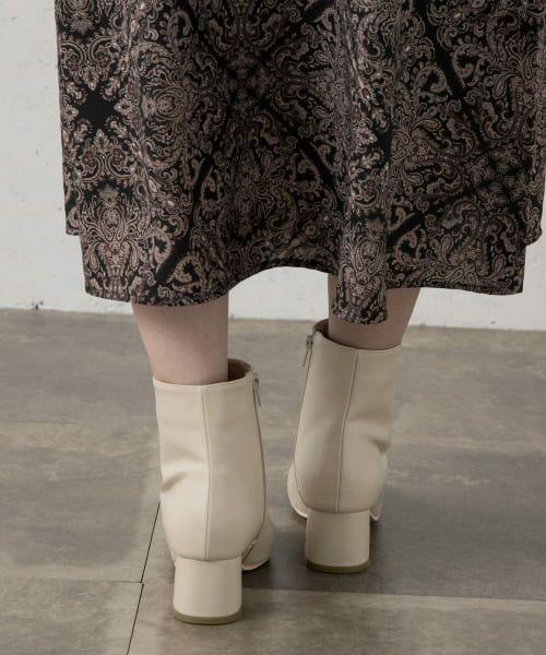 Sonny Label / サニーレーベル ブーツ(ショート丈) | フェイクレザーショートブーツ | 詳細2
