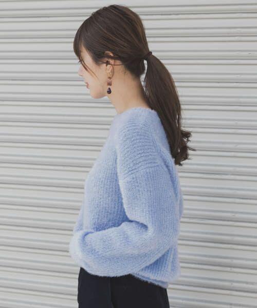 Sonny Label / サニーレーベル ニット・セーター   ラメ片畦ニットプルオーバー   詳細1
