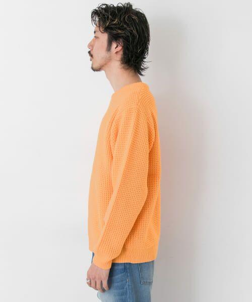 Sonny Label / サニーレーベル ニット・セーター | ワッフル編みスプリングニット | 詳細10