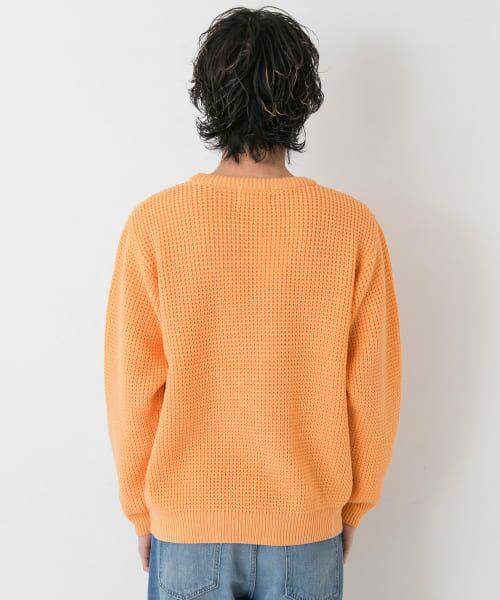Sonny Label / サニーレーベル ニット・セーター | ワッフル編みスプリングニット | 詳細11