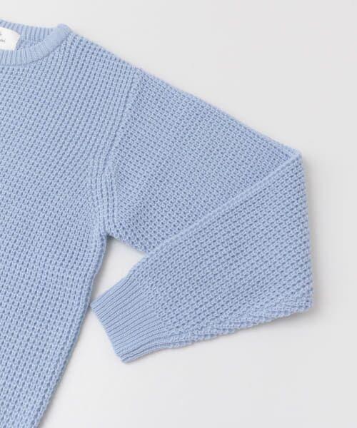 Sonny Label / サニーレーベル ニット・セーター | ワッフル編みスプリングニット | 詳細16
