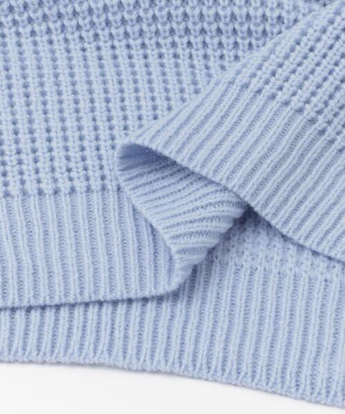 Sonny Label / サニーレーベル ニット・セーター | ワッフル編みスプリングニット | 詳細18