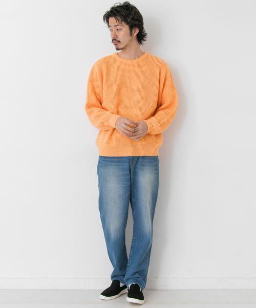 Sonny Label / サニーレーベル ニット・セーター | ワッフル編みスプリングニット | 詳細4