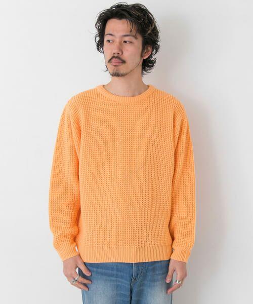 Sonny Label / サニーレーベル ニット・セーター | ワッフル編みスプリングニット | 詳細9