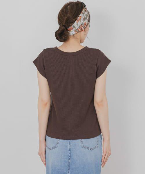 Sonny Label / サニーレーベル Tシャツ | 【WEB限定】フレンチサーマルトップス | 詳細14