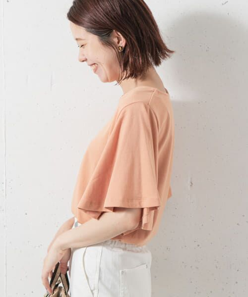 Sonny Label / サニーレーベル Tシャツ   袖フレアカットプルオーバー   詳細1
