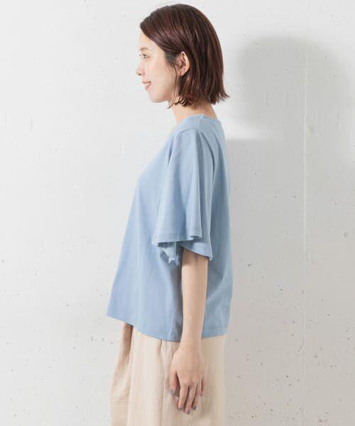 Sonny Label / サニーレーベル Tシャツ   袖フレアカットプルオーバー   詳細10