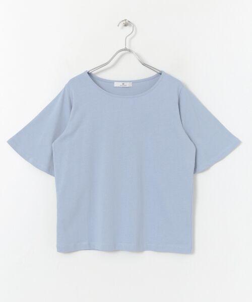 Sonny Label / サニーレーベル Tシャツ   袖フレアカットプルオーバー   詳細12
