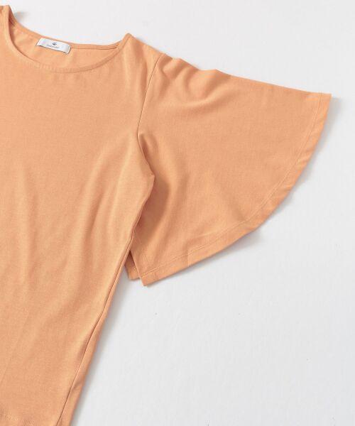 Sonny Label / サニーレーベル Tシャツ   袖フレアカットプルオーバー   詳細15
