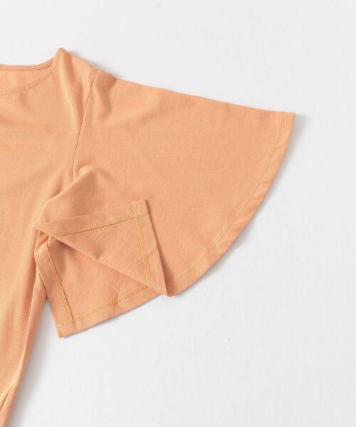 Sonny Label / サニーレーベル Tシャツ   袖フレアカットプルオーバー   詳細16