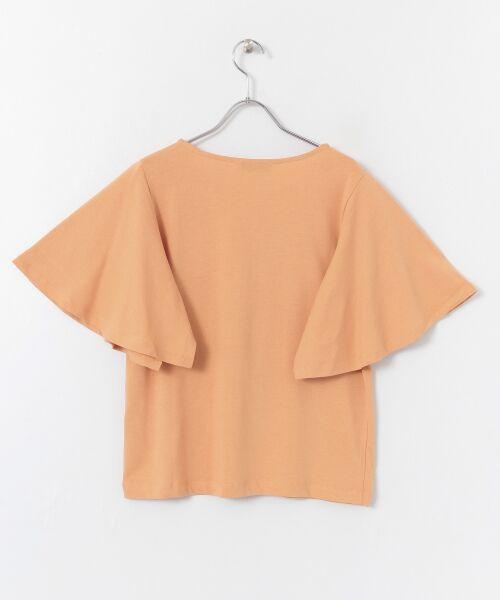 Sonny Label / サニーレーベル Tシャツ   袖フレアカットプルオーバー   詳細17