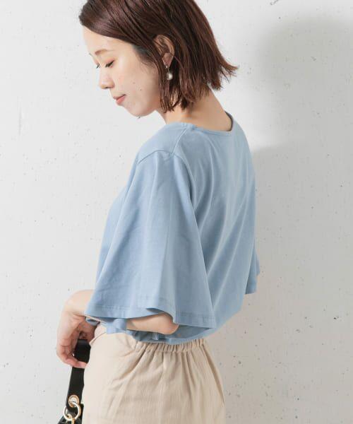 Sonny Label / サニーレーベル Tシャツ   袖フレアカットプルオーバー   詳細4