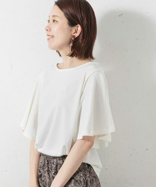 Sonny Label / サニーレーベル Tシャツ   袖フレアカットプルオーバー   詳細7