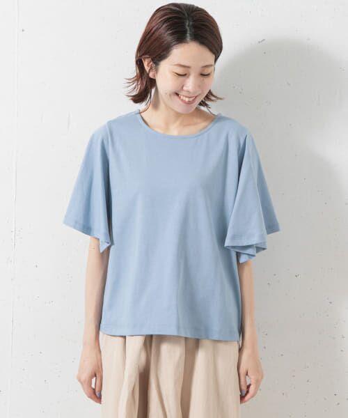 Sonny Label / サニーレーベル Tシャツ   袖フレアカットプルオーバー   詳細9