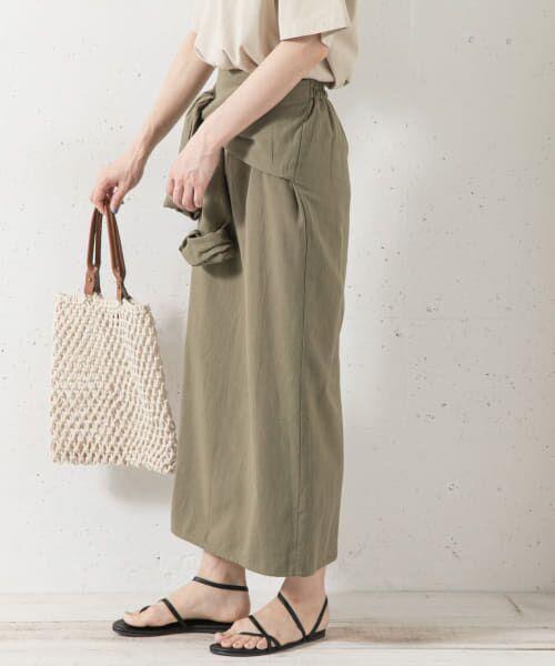 Sonny Label / サニーレーベル スカート   シャツラップライクスカート   詳細1