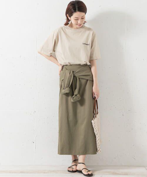 Sonny Label / サニーレーベル スカート   シャツラップライクスカート   詳細3