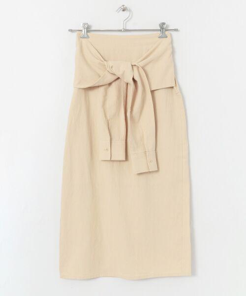 Sonny Label / サニーレーベル スカート   シャツラップライクスカート   詳細9