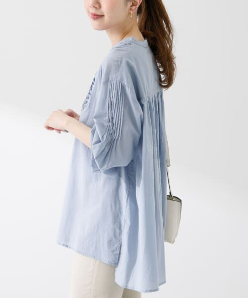 Sonny Label / サニーレーベル シャツ・ブラウス | コットンタックドレスシャツ | 詳細24