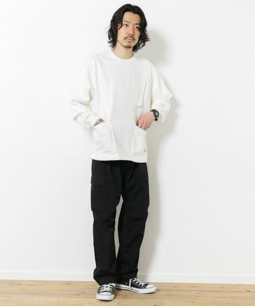 Sonny Label / サニーレーベル スウェット | VERTIGO DESIGNS Chest Flap Sweat Pullover | 詳細4
