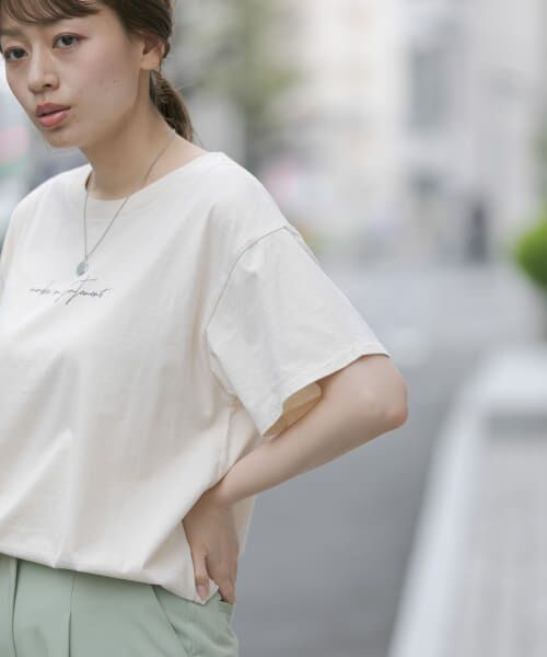 Sonny Label / サニーレーベル Tシャツ | 【WEB限定】フロントレタリングTシャツ | 詳細10