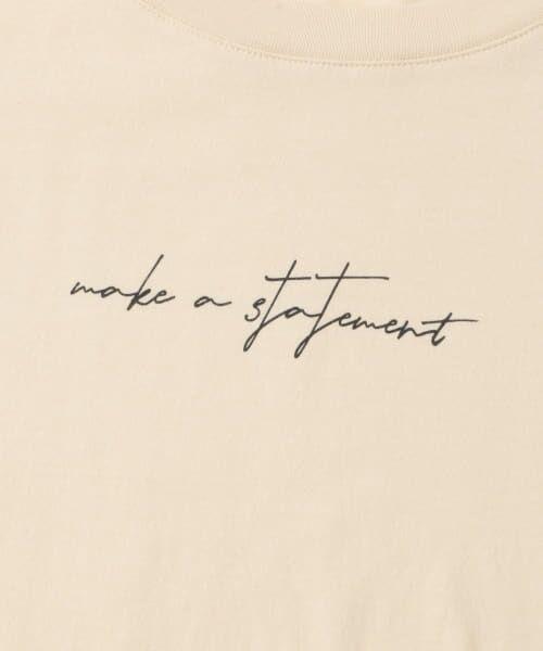 Sonny Label / サニーレーベル Tシャツ | 【WEB限定】フロントレタリングTシャツ | 詳細25