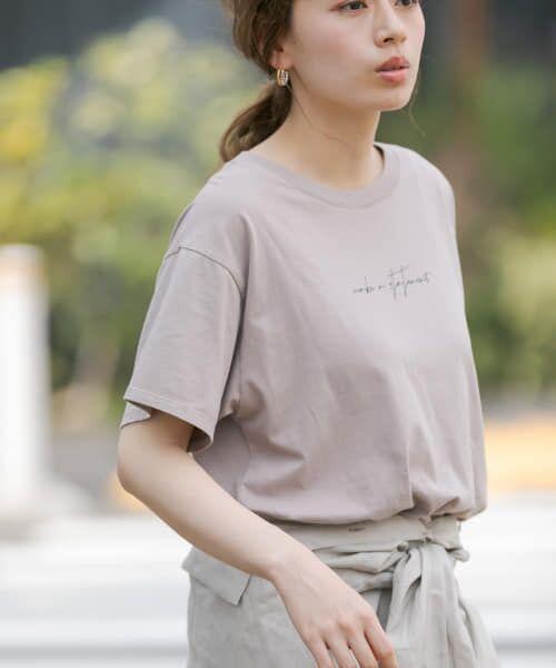 Sonny Label / サニーレーベル Tシャツ | 【WEB限定】フロントレタリングTシャツ | 詳細3