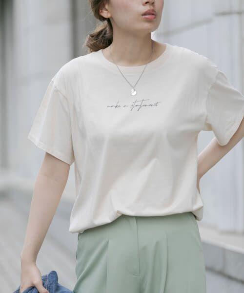 Sonny Label / サニーレーベル Tシャツ | 【WEB限定】フロントレタリングTシャツ | 詳細9