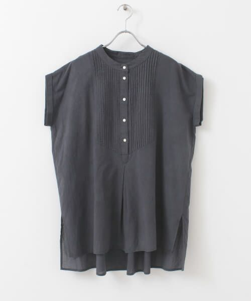 Sonny Label / サニーレーベル シャツ・ブラウス | エアリーコットンピンタックドレスシャツ | 詳細27