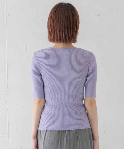 Sonny Label / サニーレーベル Tシャツ   ベーシックリブニットTシャツ   詳細10