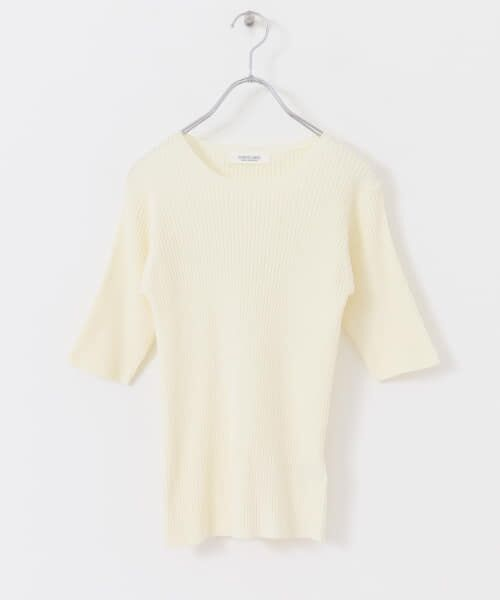 Sonny Label / サニーレーベル Tシャツ   ベーシックリブニットTシャツ   詳細11
