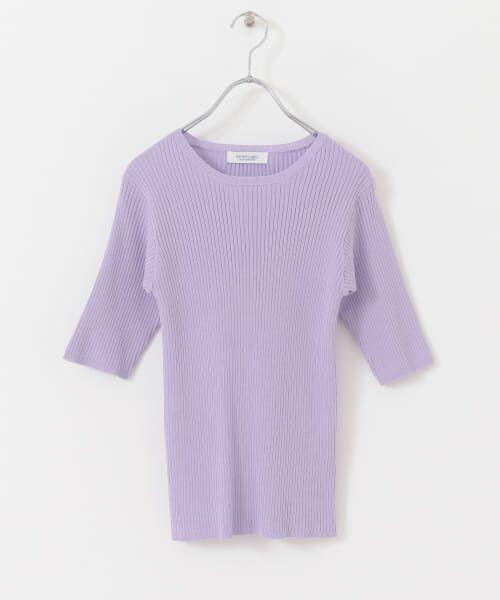 Sonny Label / サニーレーベル Tシャツ   ベーシックリブニットTシャツ   詳細12