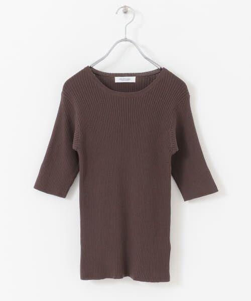 Sonny Label / サニーレーベル Tシャツ   ベーシックリブニットTシャツ   詳細13