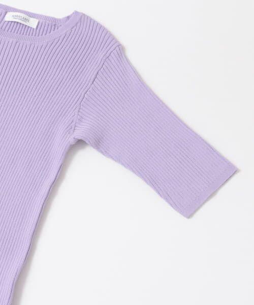 Sonny Label / サニーレーベル Tシャツ   ベーシックリブニットTシャツ   詳細14