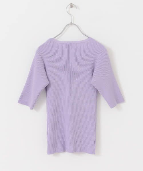 Sonny Label / サニーレーベル Tシャツ   ベーシックリブニットTシャツ   詳細15