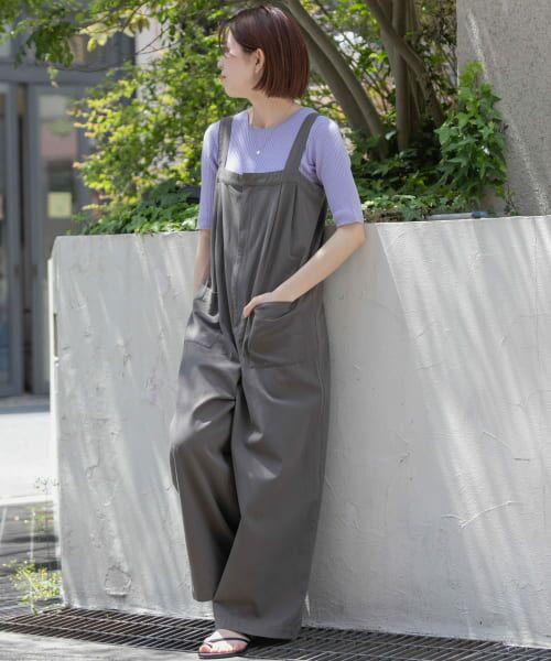 Sonny Label / サニーレーベル Tシャツ   ベーシックリブニットTシャツ   詳細4