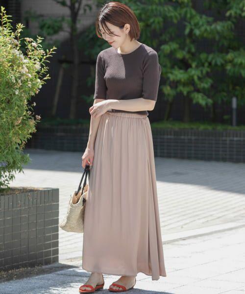 Sonny Label / サニーレーベル Tシャツ   ベーシックリブニットTシャツ   詳細6
