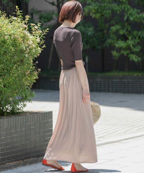 Sonny Label / サニーレーベル Tシャツ   ベーシックリブニットTシャツ   詳細7