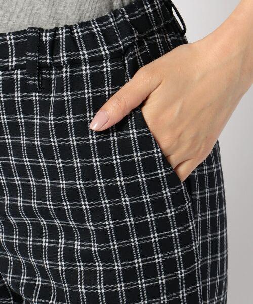 S size ONWARD(小さいサイズ) / エスサイズオンワード その他パンツ | 【肌に優しい・洗える】T/R 2wayアルガンオイル パンツ(テーパード) | 詳細5
