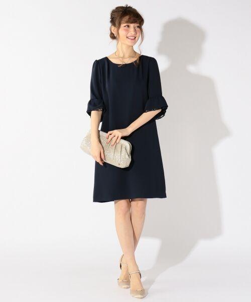 5dde084c6cd06 セール  洗える ベルスリーブサック ワンピース (ドレス)|S size ...