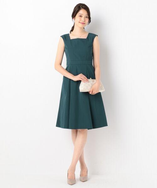 8d2155cb9f998 セール  結婚式やパーティに ソフトグログラン ドレス (ドレス)|S ...